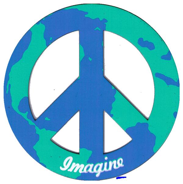 Magnetic Peace Symbols Flexible Peace Sign Magnets Peace