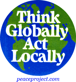 be global and act local essay