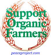 B065 - Support Organic Farmers - Button