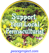 Support Your Local Permaculturist - Button