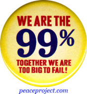 We Are The 99%... - Button