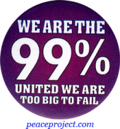 We Are The 99%... Button