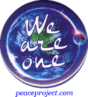 B1164 - We Are One - Button