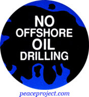 B205 - No Offshore Oil Drilling - Button