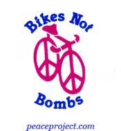 B225 - Bikes Not Bombs - Button