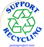 B250 - Support Recycling - Button