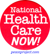 B451 - National Health Care Now - Button