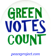B543 - Green Votes Count - Button