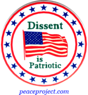 B719 - Dissent Is Patriotic - Button