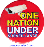 One Nation Under Surveillance - Button