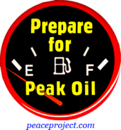 Prepare For Peak Oil - Button