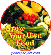 Grow Your Own Food - Button