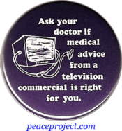 B970 - Ask Your Doctor If Medical Advice From A... - Button