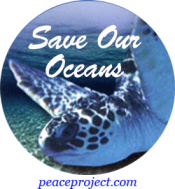 Save Our Oceans - Button