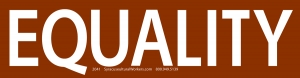 S549 - Equality - Bumper Sticker