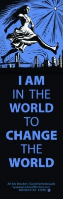 BM14 - I am in the world to change the world - Bookmark