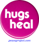 B271 - Hugs Heal - Button