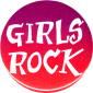 MG0541 - Girls Rock - Magnet