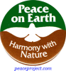 B251 - Peace On Earth, Harmony With Nature - Button