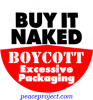 B432 - Buy It Naked, Boycott Excessive Packaging - Button