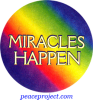 B500 - Miracles Happen - Button