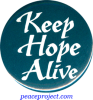 B502 - Keep Hope Alive - Button