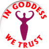 MG0526 - In Goddess We Trust - Magnet