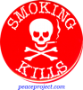 B532 - Smoking Kills - Button