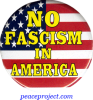 B625 - No Fascism In America - Button