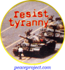 Resist Tyranny - Button
