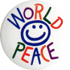 MG023 - World Peace - Magnet