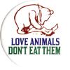 MG062 - Love Animals Don't Eat Them - Magnet