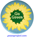 Go Green - Button