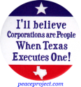 I'll Believe Corporations Are... - Button