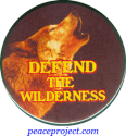 Defend The Wilderness - Button