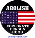 B1149 - Abolish Corporate Personhood - Button