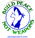 B150 - Build Peace Not Weapons - Button