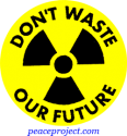 B153 - Don't Waste Our Future - Button
