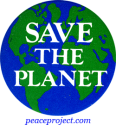 B158 - Save the Planet - Button