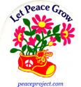 B170 - Let Peace Grow - Button