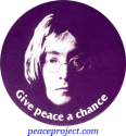 B178 - Give Peace A Chance - John Lennon - Button