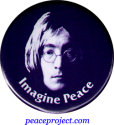 B179 - Imagine Peace - John Lennon - Button
