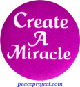 B187 - Create A Miracle - Button