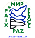 B203 - MNP Paix Paz Peace - Button