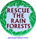 B230 - Rescue The Rain Forests - Button