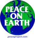 B247 - Peace On Earth - Button