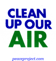 B252 - Clean Up Our Air - Button