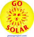 B263 - Go Solar - Button