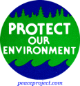 B264 - Protect Our Environment - Button