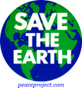 B302 - Save The Earth - Button